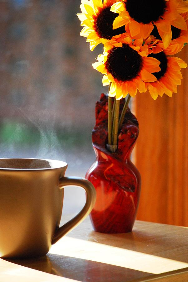 Still Life Photograph - Good Day Brewing by Peter  McIntosh