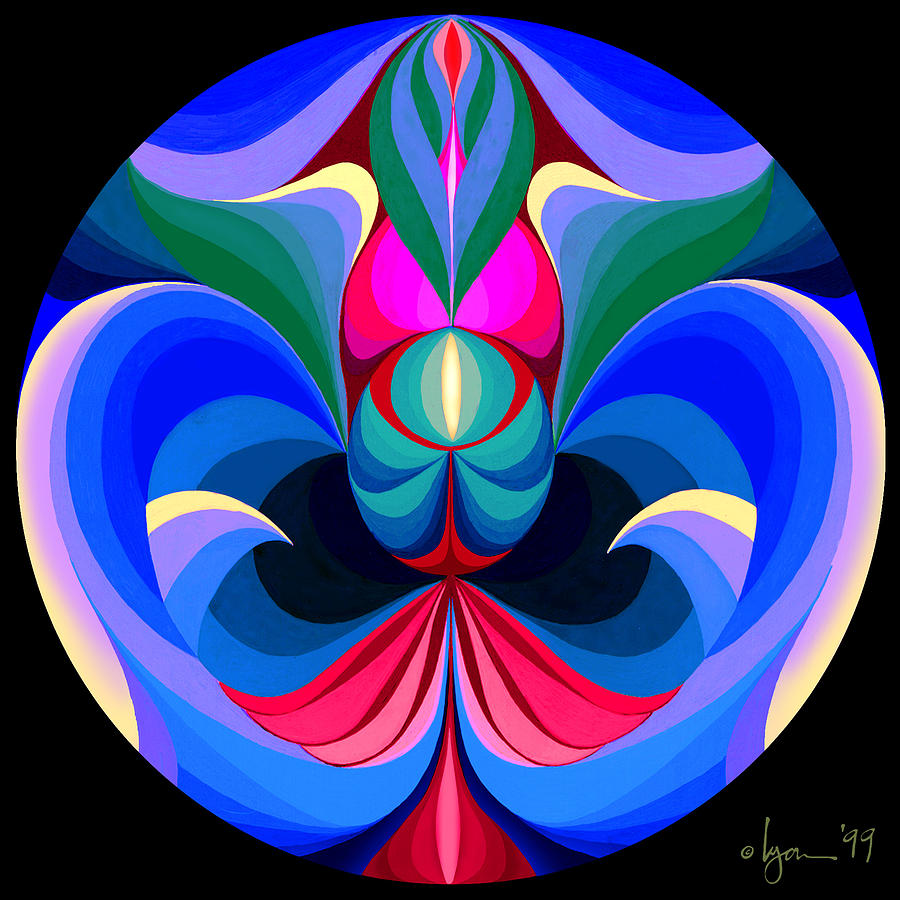 Mandalas Painting - Good Fortune by Angela Treat Lyon