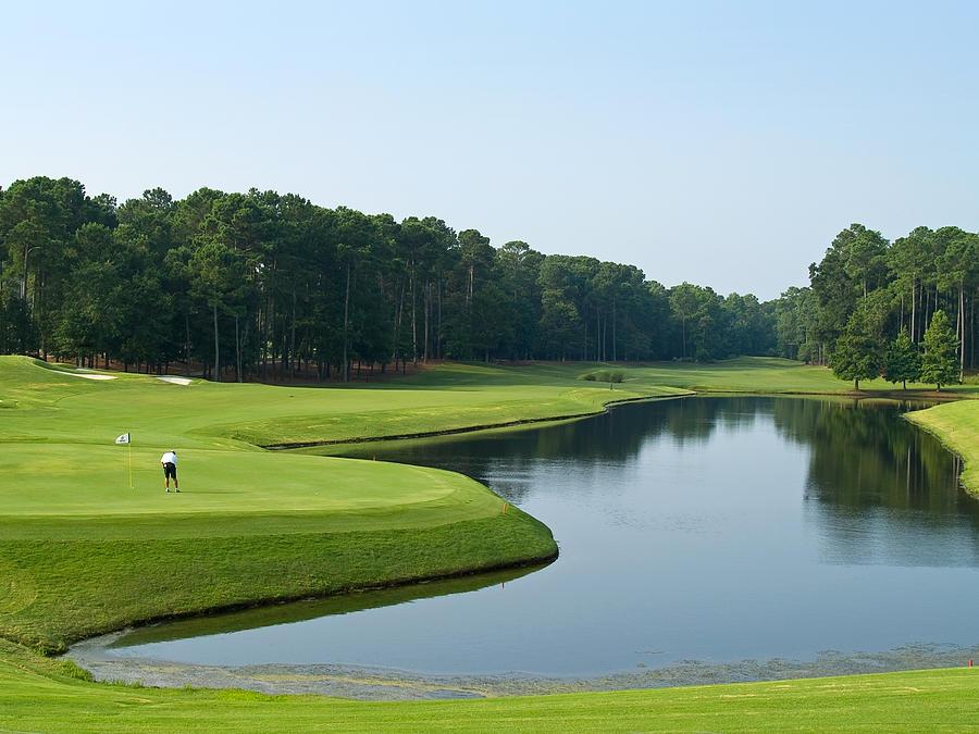 Golf Photograph - Good Golf Day by Andrew Kazmierski