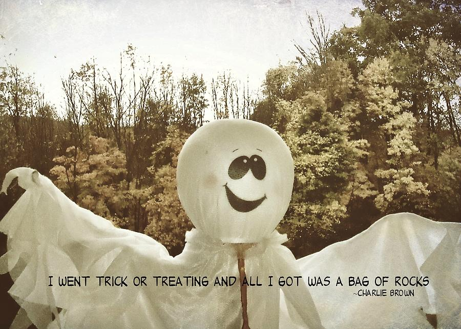 Ghost Photograph - Good Grief Quote by JAMART Photography