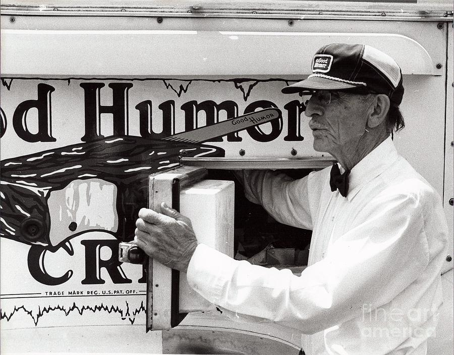 Diane Berry Photograph - Good Humor Man by Diane E Berry