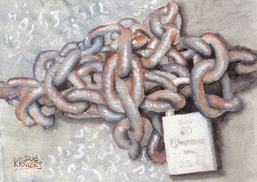 Chain Painting - Good by Ken Powers