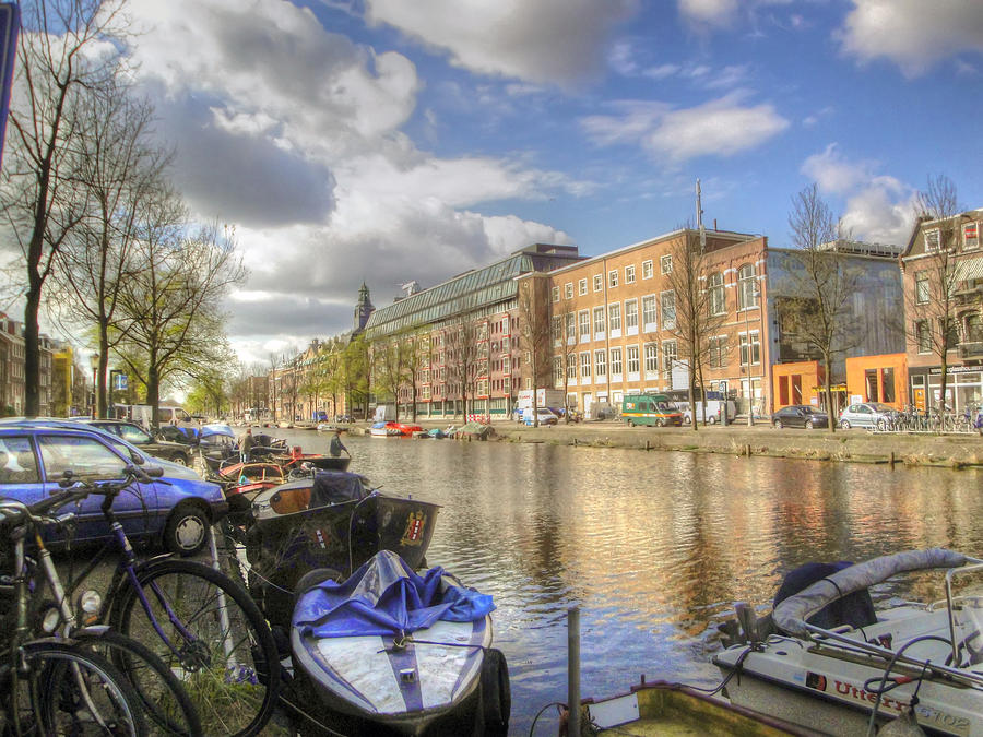 Amsterdam Photograph - Good Morning Amsterdam by Dolly Sanchez