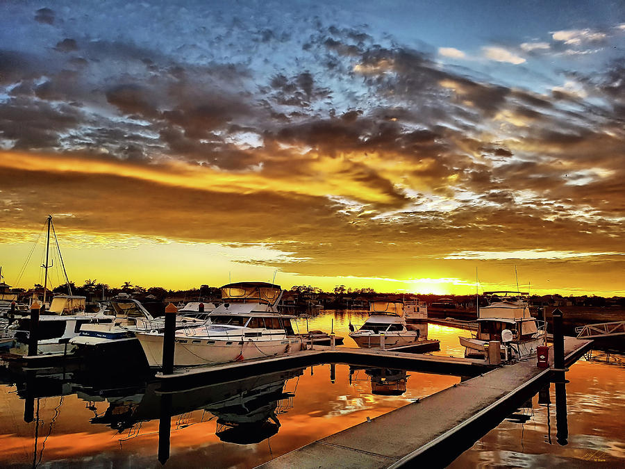 good morning boats by Michael Blaine