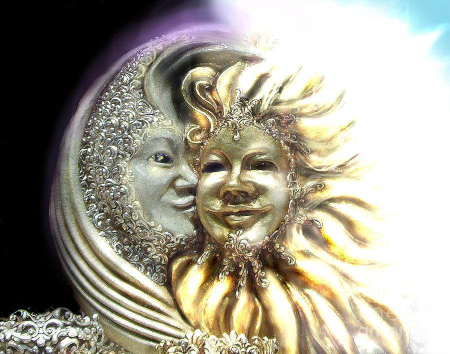Sun Digital Art - Good Morning, Good Night by Jeff Willoughby