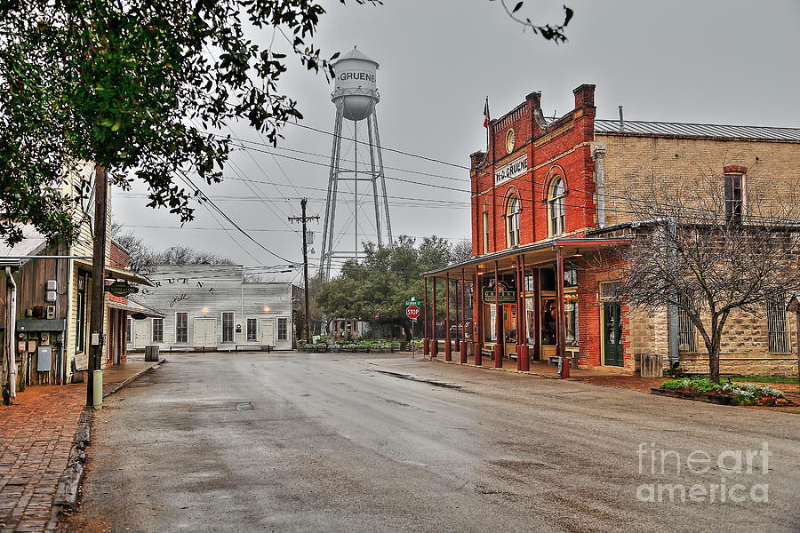 good morning Gruene Hall by Jeff Downs