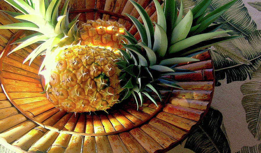 Pineapple Photograph - Good Morning Hawaii by James Temple