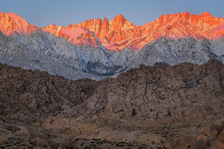 Good Morning Mount Whitney by John Hight