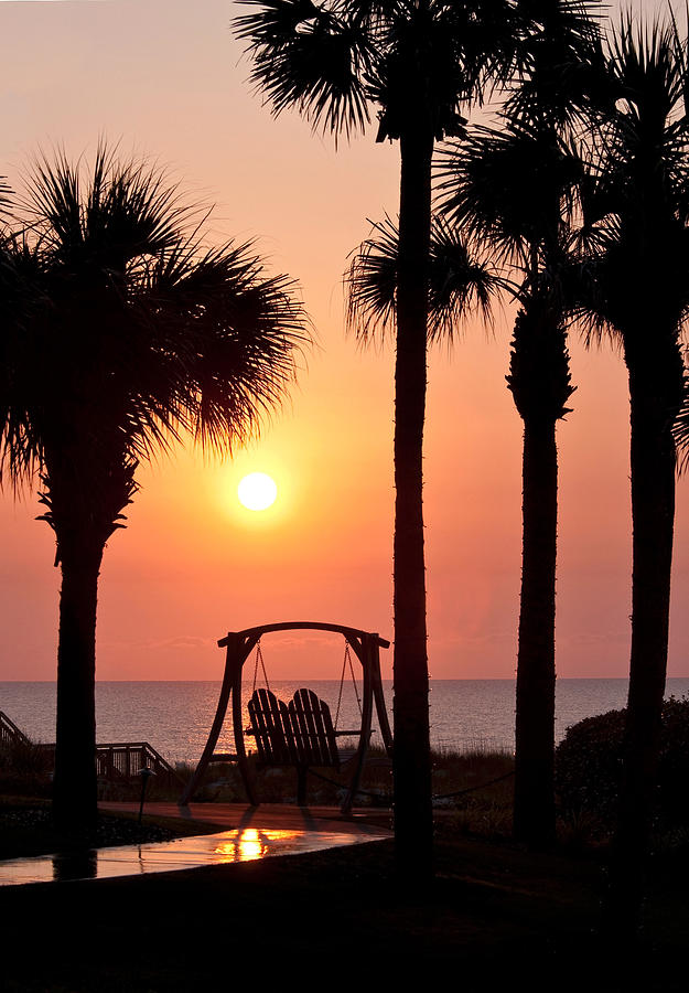 Sunrise Photograph - Good Morning by Steven Sparks