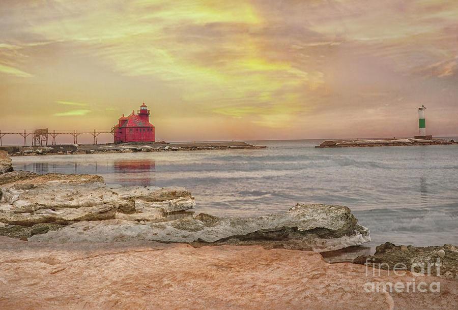 Sturgeon Bay Photograph - Good Morning Sturgeon Bay by Nikki Vig