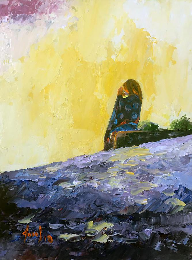 Bahamas Painting - Good Morning Sun by Josef Kelly