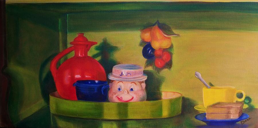Fiesta Painting - Good Morning Sunshine by Dana Redfern