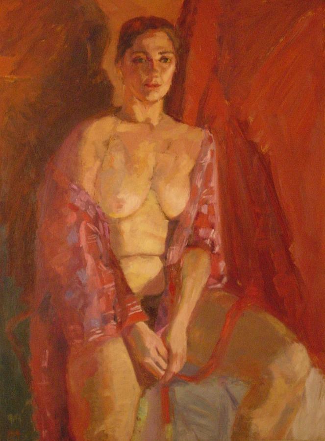 Nude Painting - Good Night by Irena Jablonski