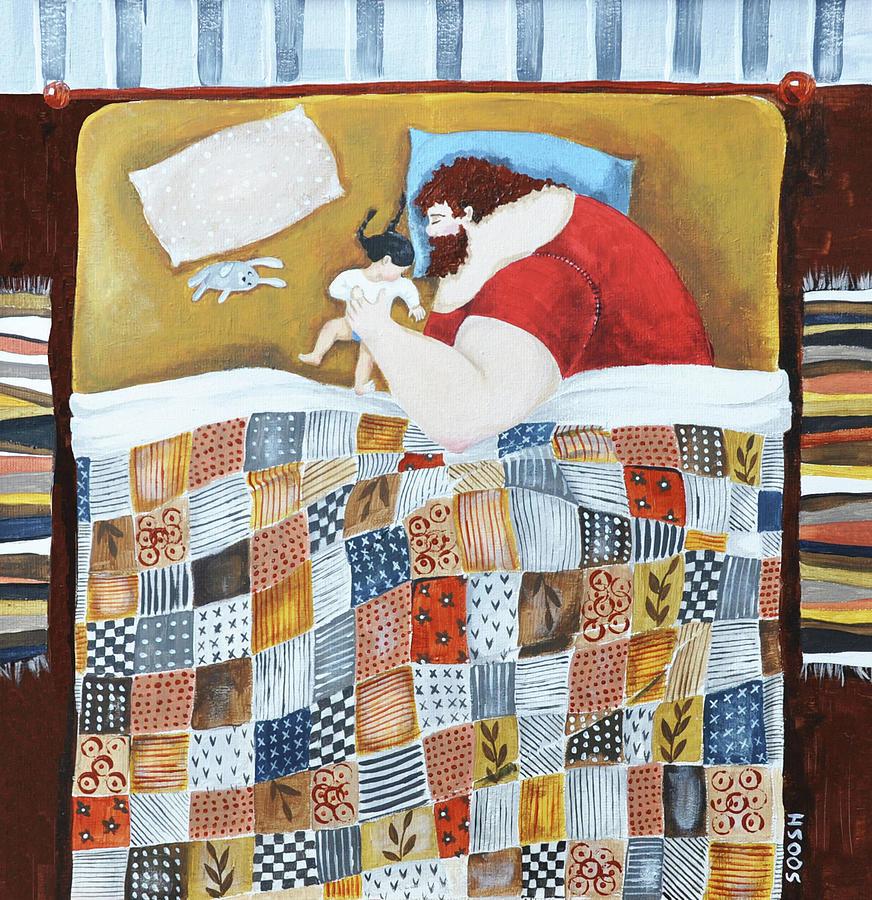 Soosh Painting - Good Night by Soosh