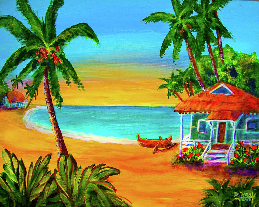 Hawaii Painting - Good Old Days #400 by Donald k Hall