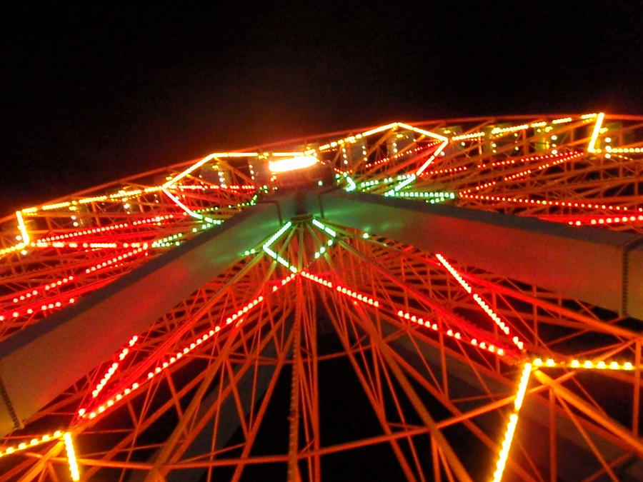 Farris Wheel Photograph - Good Old Fun by Anthony Haight