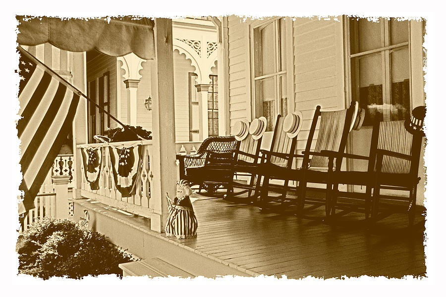 Americana Photograph - Good Old Times by George Oze