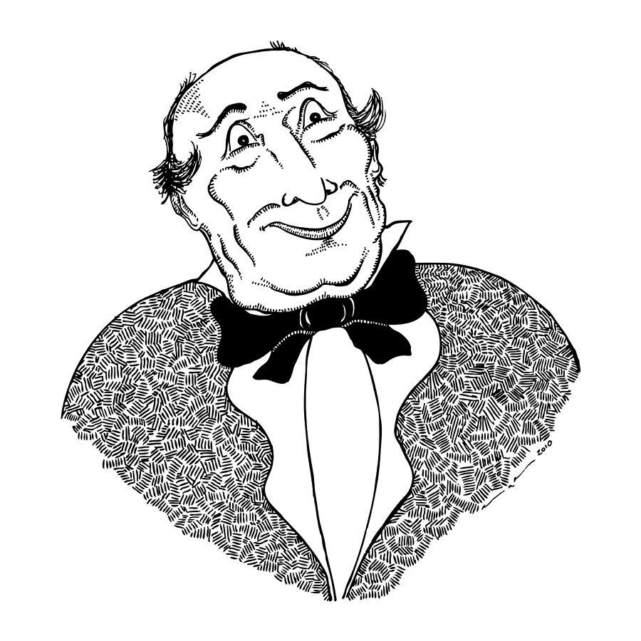 Drawing Drawing - Good Sir by Karl Addison