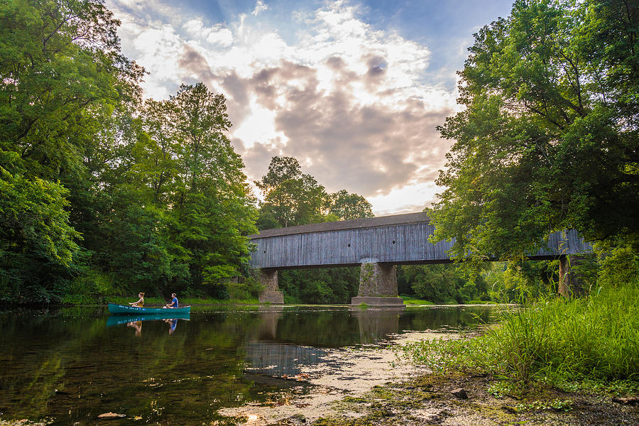 Good to Canoe Photograph by Kristopher Schoenleber
