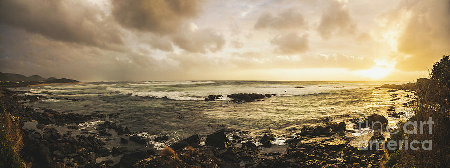 Beach Photograph - Goodbye Sunshine by Jorgo Photography - Wall Art Gallery