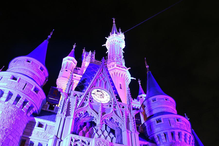 Walt Disney World Photograph - Goodnight Cinderella by Devon Disneyland