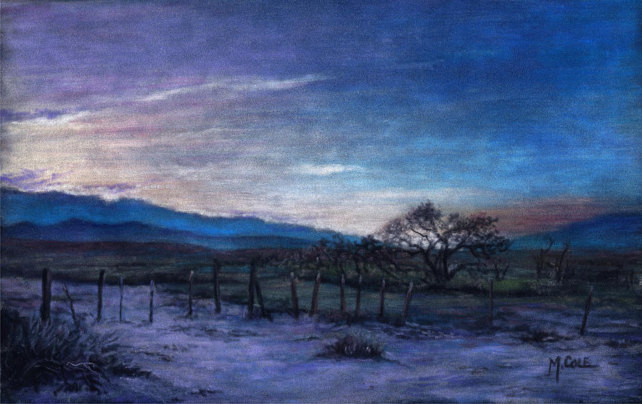 Sky Painting - Goodnight Owen by Mark Ivan Cole