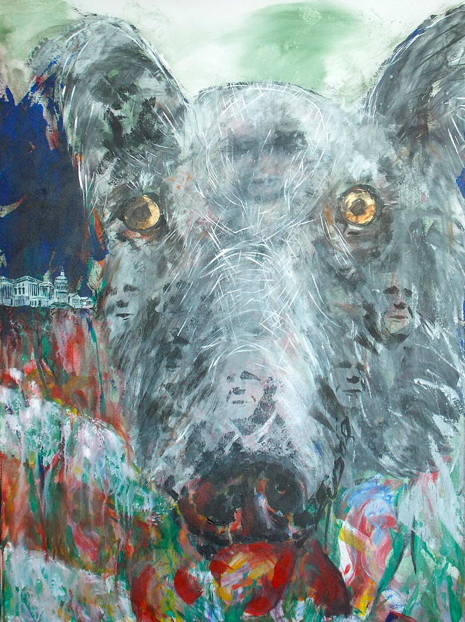 Wolf Head Of Insurrectionist Painting