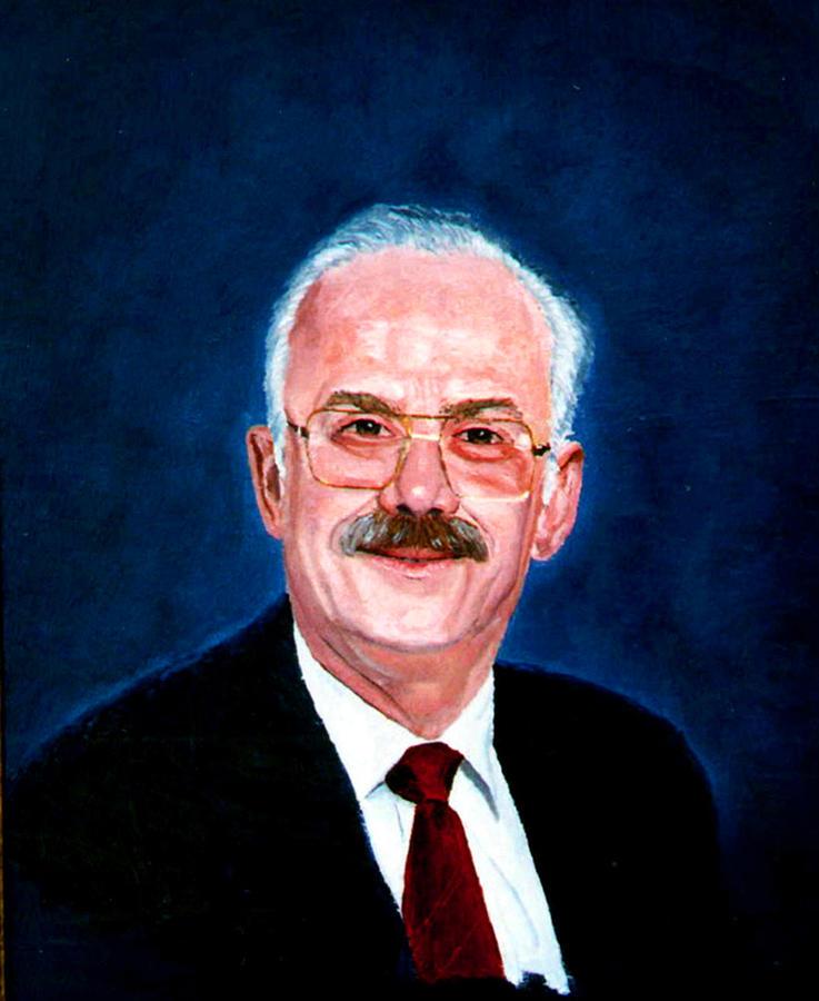 Oil Portrait Painting - Gordon by Stan Hamilton