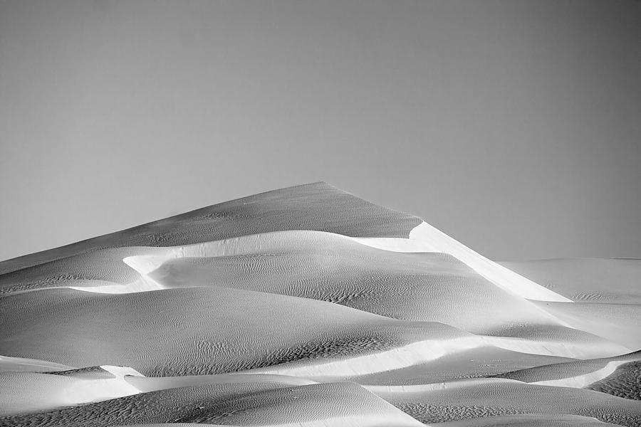 Black & White Photograph - Gordon Wells Dunes by Peter Tellone