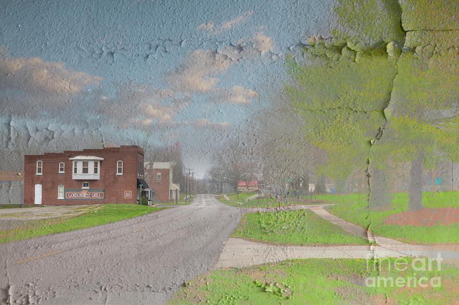 Hdr Digital Art - Gordonville Missouri  by Larry Braun