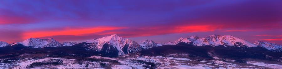 Gore Range Sunrise Photograph