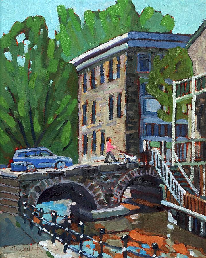 May Painting - Gore Street Bridge by Phil Chadwick