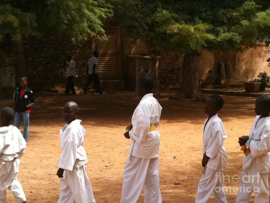 Faniart Photograph - Goree Karate  by Fania Simon