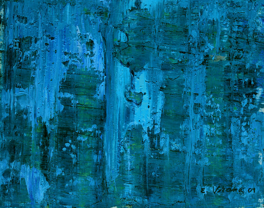Abstract Painting - Gorge by Ethel Vrana