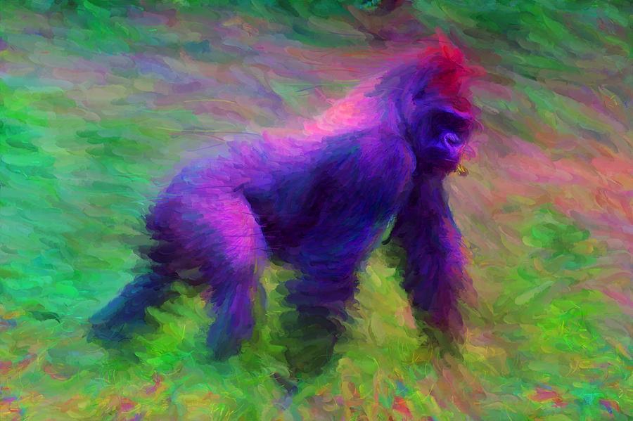 Gorilla by Caito Junqueira