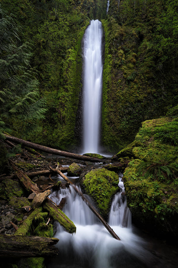 Gorton Creek Falls by Brian Bonham