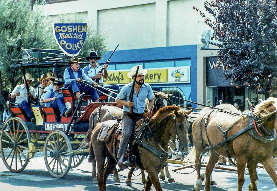 Western Photograph - Goshen Parade 1980-3 by Gene Parks