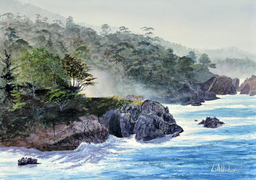 Maritime Painting - Gossamer Fog by Bill Hudson