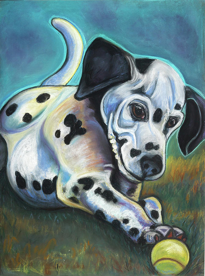 Dalmatian Pastel - Gotballs4pets? Dalmatian by Ann Hoff