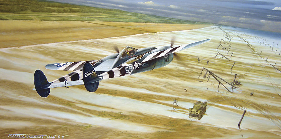 Wwii Painting - Gotcha by Marc Stewart