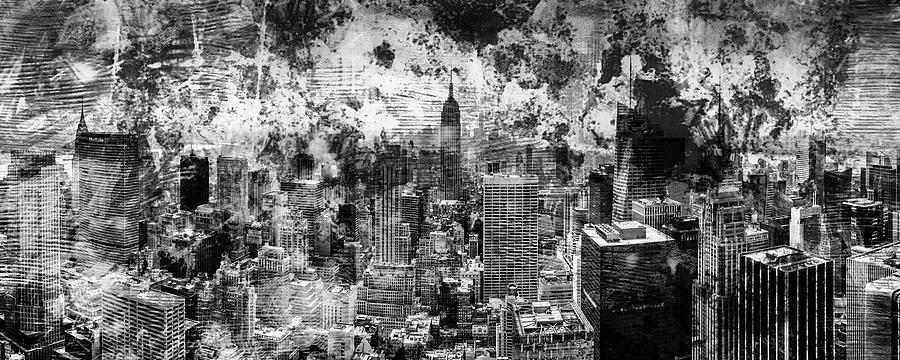 Empire State Building Photograph - Gotham Castles by Az Jackson