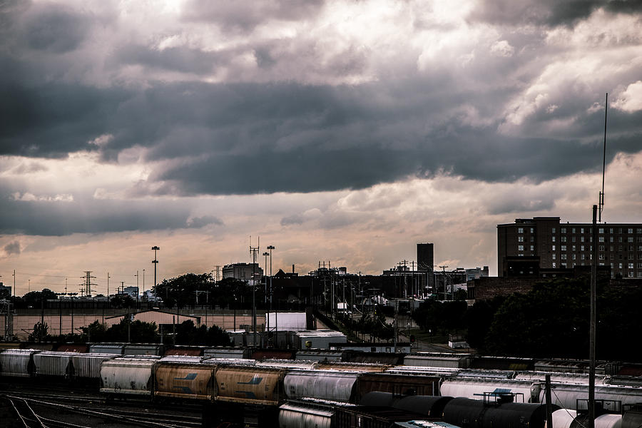 Clouds Photograph - Gotham City by Aedon Colino
