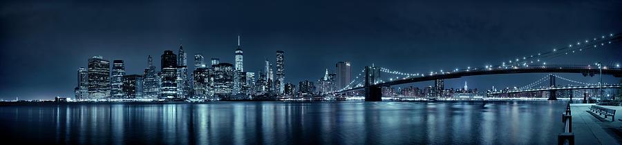 New York Photograph - Gotham City Skyline by Sebastien Coursol