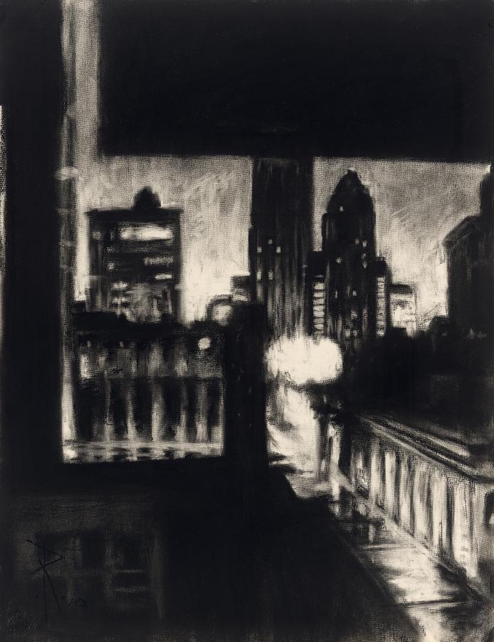 Robert Painting - Gotham II by Robert Reeves
