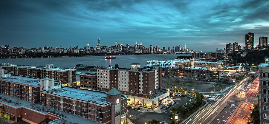 Financial Photograph - Gotham by Michael Santos