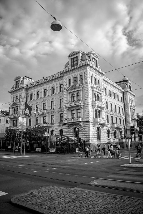 Gothenburg Photograph - Gothenburg Corner by Ian Thompson