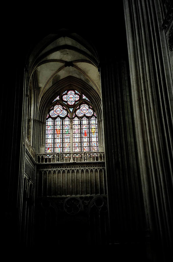 Gothic Photograph - Gothic Cathedral by Chris Brewington Photography LLC