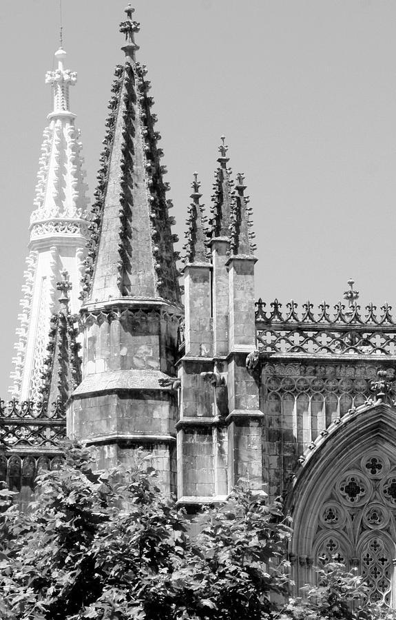 Architectura Photograph - Gothic Detail  by Raquel Daniell