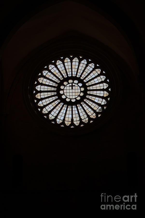 Catholic Church Photograph - Gothic Rose by Joseph Yarbrough