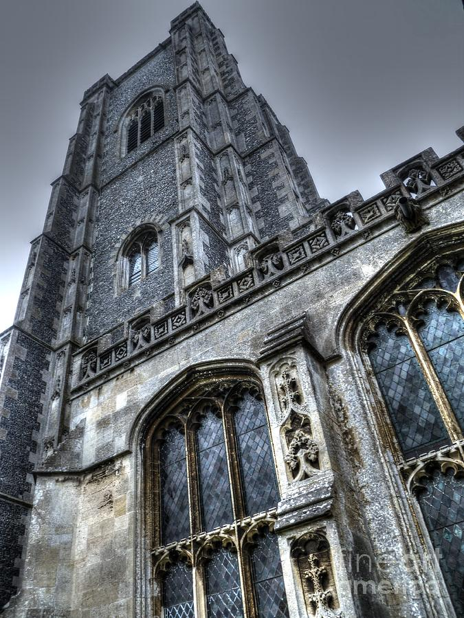 Church Photograph - Gothic by Vicki Spindler